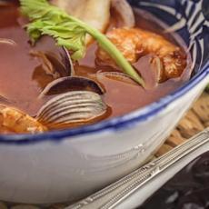 Mexican Seafood Soup - Caldo de Mariscos (a la mexicana)