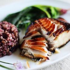 Miso Glazed Black Cod