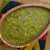 Salsa Verde for Enchiladas